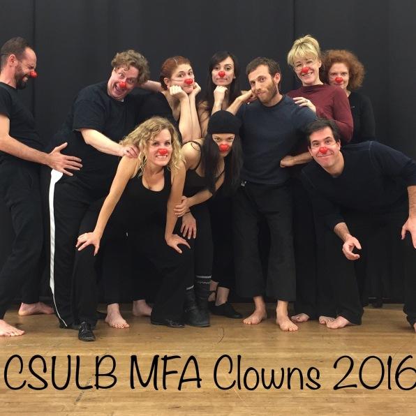 Clown class with Ezra LeBanc